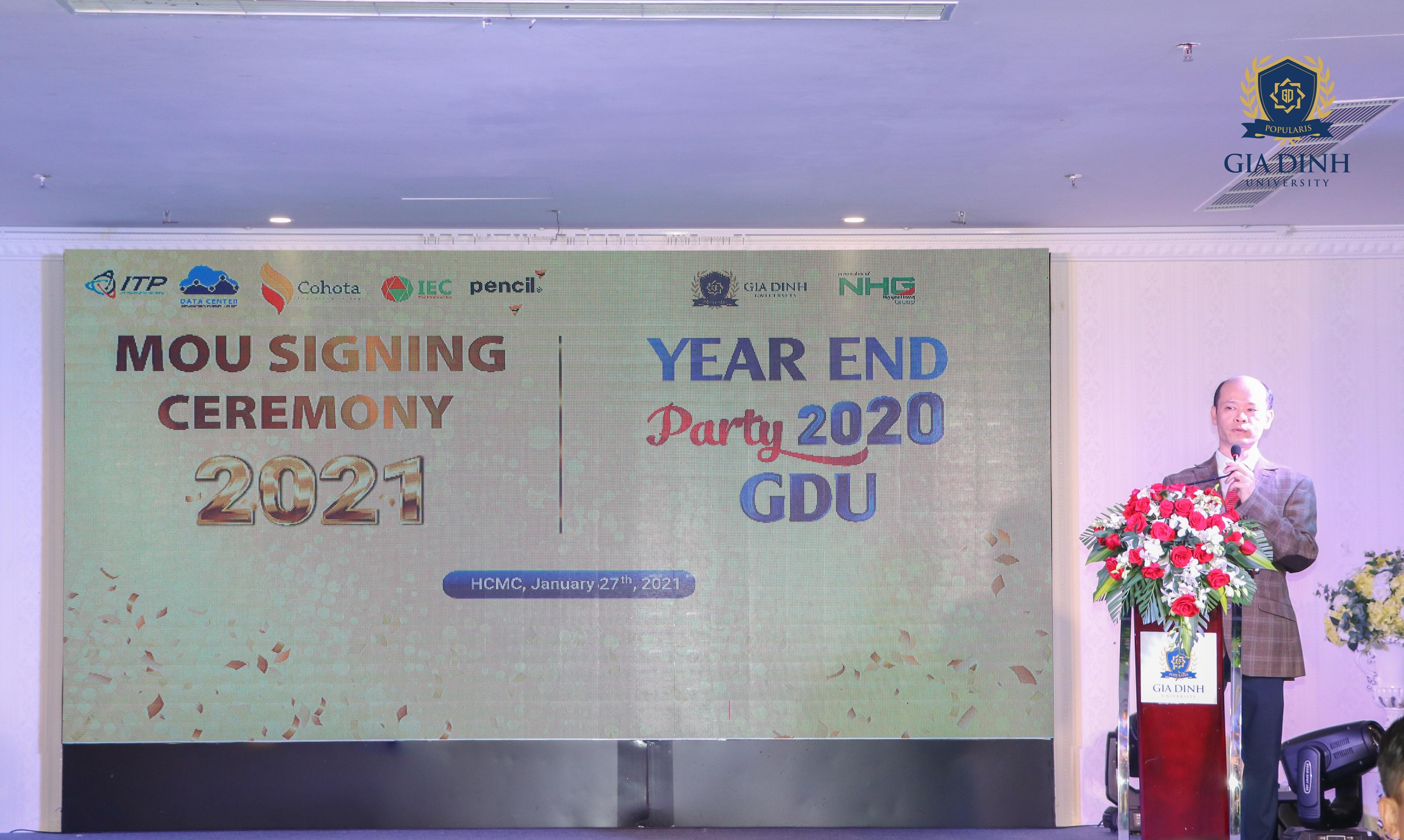 IMG 6266 Trường Đại học Gia Định (GDU) ký kết hợp tác đào tạo với công ty Pencil Group