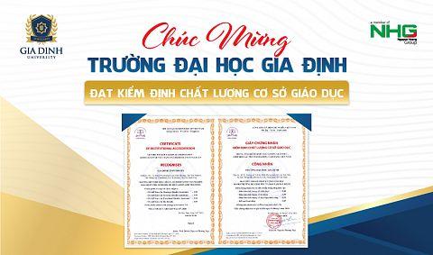Trường Đại học Gia Định đạt Kiểm định chất lượng cơ sở giáo dục của CEA-AVU&C